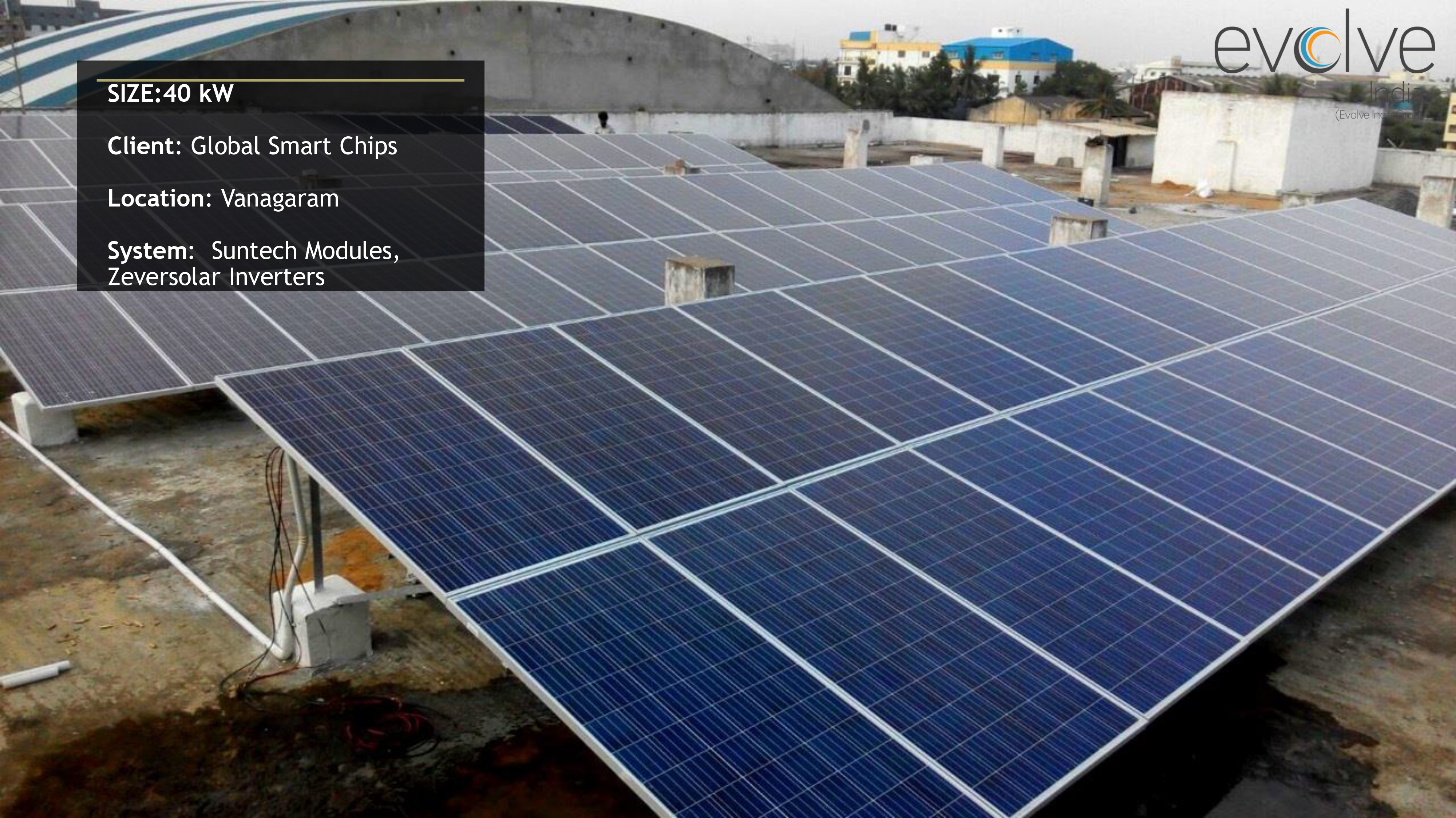 Evolve Energy Group Evolve India Solar Solar Energy